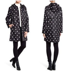 NWT Kate Spade Deco Dot Rain Coat